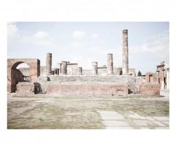 Pompei - napols - napoli - vesuvio - rovine - colonne
