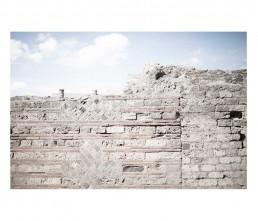 Pompei - napols - napoli - vesuvio - rovine -muro