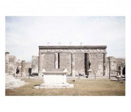 Pompei - napols - napoli - vesuvio - rovine -colonnato