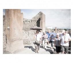 Pompei - napols - napoli - vesuvio - rovine - turist
