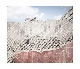 Pompei - napols - napoli - vesuvio - rovine - muro - materiali