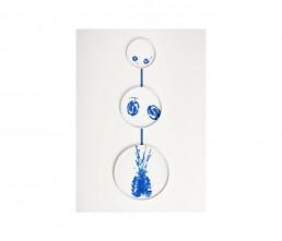 Chiara Andreatti - young designer - porcellana - stampa -blu - alberto strada