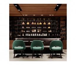 Cafe - interior architecture - bookcase