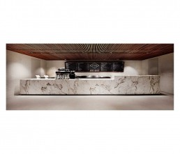 Cafe - interior architecture - marble