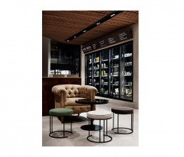 Cafe - interior architecture - sofa - living divani