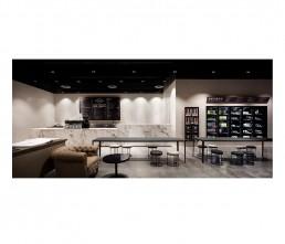 Cafe - interior architecture - bar counter
