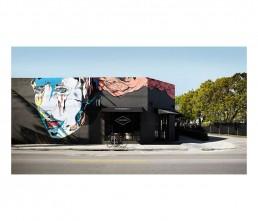 Cafe - interior architecture - graffiti